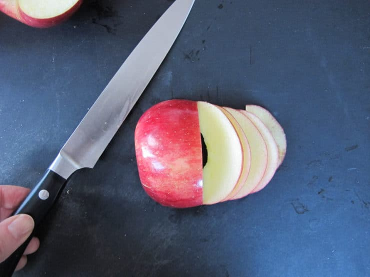 Apple Date Rose Tarts - Pretty Vegan Dessert