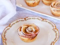 Apple Date Rose Tarts