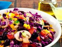 Rainbow Salad Pinterest Pin