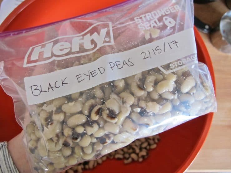 How to Cook and Freeze Dried Black Eyed Peas - Learn how cook dried black eyed peas to prepare them for use in recipes. Includes storage and freezing techniques.