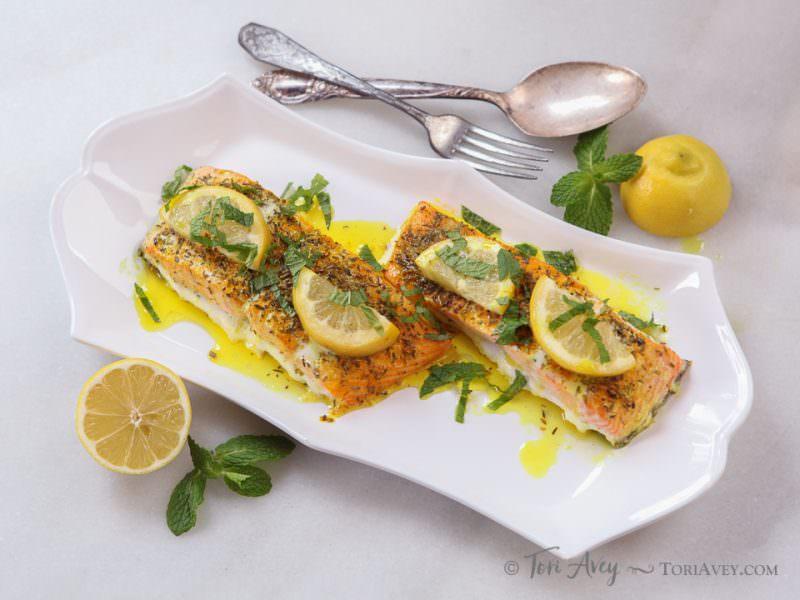 Uri Buri Lemon Turmeric Salmon