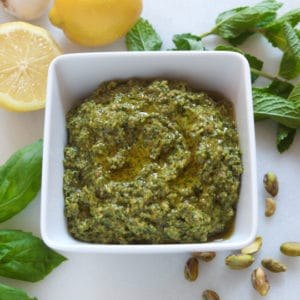 Pistachio Mint Pesto