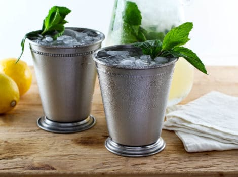 Sparkling Lemon Mint Juleps