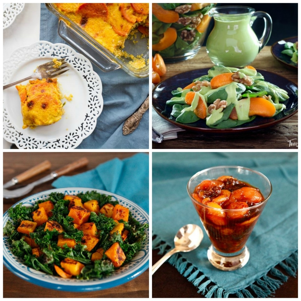 Vegan Rosh Hashanah Recipes - Symbolic vegan appetizer, entree, salad, side, and dessert recipes for the Jewish High Holiday Menu.