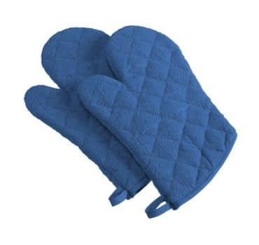 100% Cotton Washable Oven Mitts