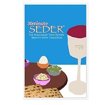 30 Minute Seder – Brief Traditional Haggadah