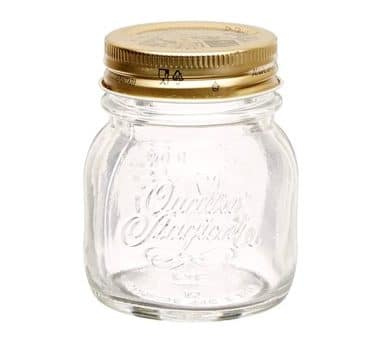 5 Ounce Quattro Stagioni Spice Jars, Set of 12
