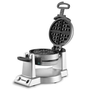 Double Belgian Waffle Maker, Stainless Steel