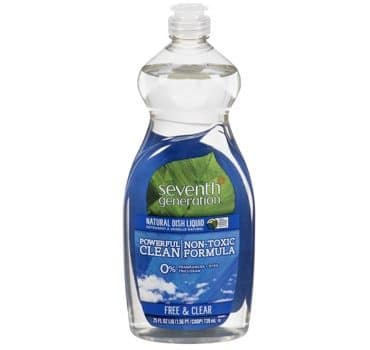 Fragrance Free Environmentally Friendly Dish Soap