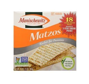 Manischewitz Matzos for Passover – 5 lbs. Box