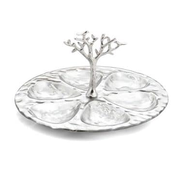 Michael Aram Tree Of Life Glass Seder Plate
