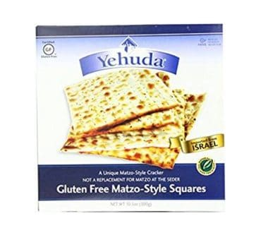Yehuda Matzo Squares Gluten-Free 10.5 Ounce