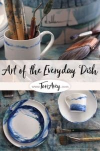 The Art of the Everyday Dish Pinterest Pin on ToriAvey.com
