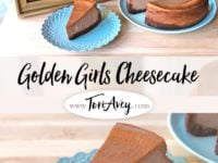 The Golden Girls Cheesecake Pinterest Pin on ToriAvey.com
