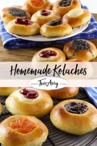 Homemade Kolaches Pinterest Pin on ToriAvey.com