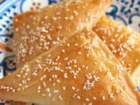 How to Make Bourekas with Filo Dough Pinterest Pin on ToriAvey.com