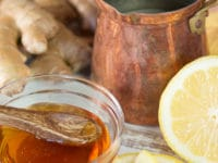 Lemon Ginger Cider Vinegar Infusion