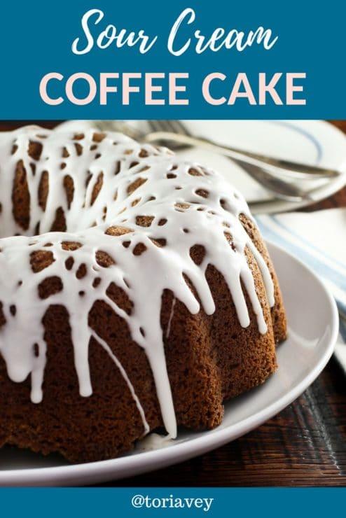 Sour Cream Coffee Cake Pin