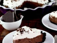 Mocha Pudding Pie Pinterest image.