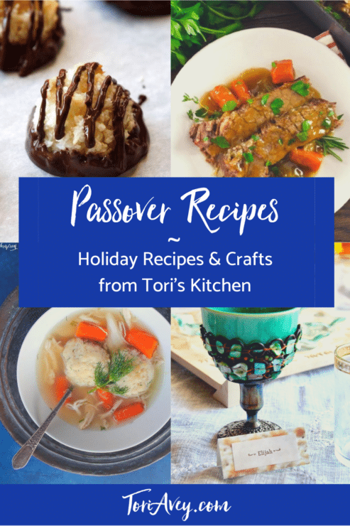 Passover Recipe Index Pinterest Pin on ToriAvey.com