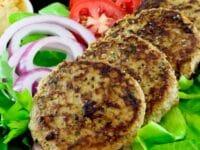 Mediterranean Turkey Burgers Pinterest Pin