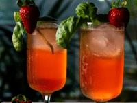 Strawberry Basil Tonic Pinterest Image